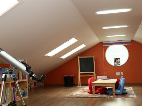 Converted attic by Colin Morris Construction, builders in Navan