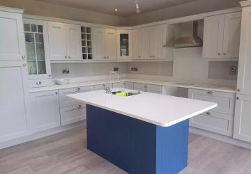 A kitchen after renovation, by Colin Morris Construction, the property renovations specialists