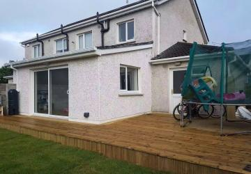 A house extension by Colin Morris Construction, the builders in Meath